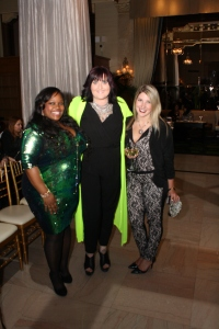myself networking with blogger MarieCurvyChic and up&coming designer Lauren S.