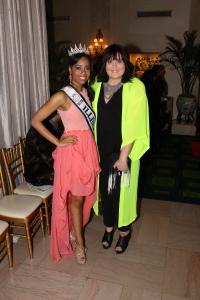 With Miss Illinois