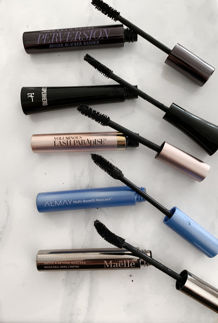 5 mascaras I can't live without!