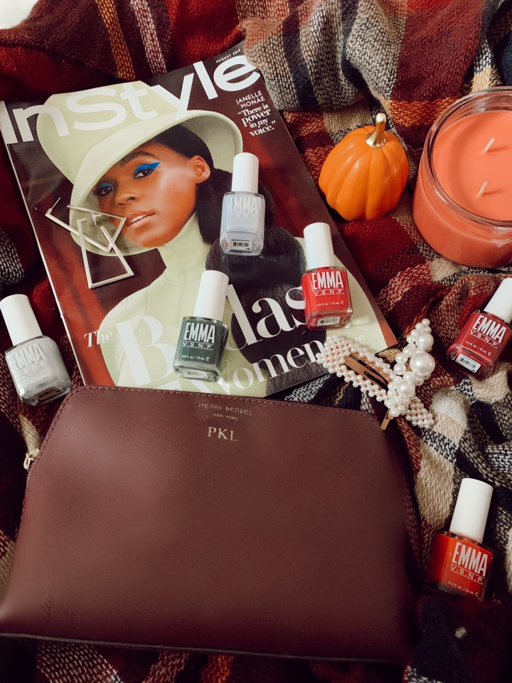 Pop of Fall: non-toxic fall nail colors