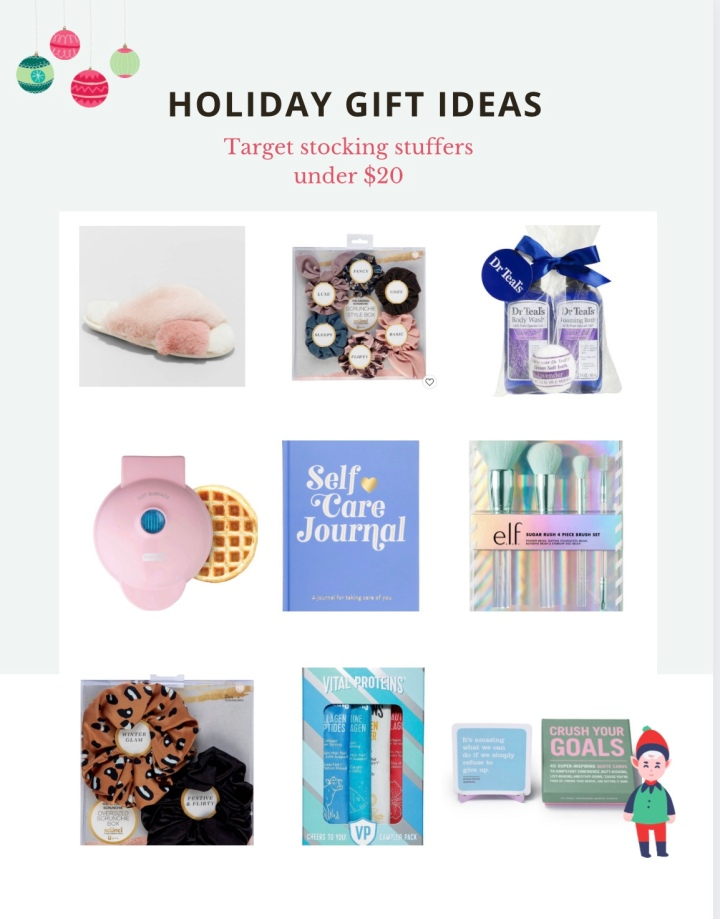 Gift Guide 2020: Target Stocking Stuffers under $20