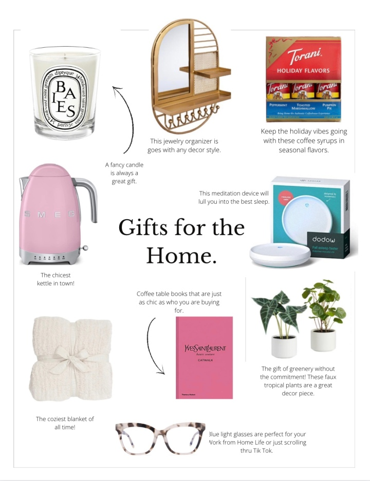 Gift Guide 2020: For the home